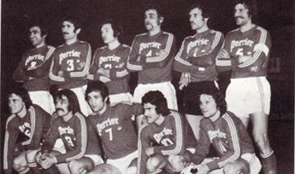 Szczyrba, Morel, Lanoë, Notheaux Bianchi, Lemaître, Gueniche, Carrié, Fuentes