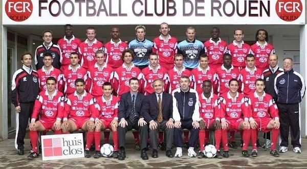 FC Rouen Saison 2000-2001 8ème CFA, Groupe A