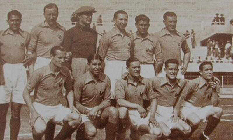 France-Autriche_1934,_équipe_de_France